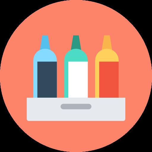 Fancy Elementor Flipbox Drinks Image