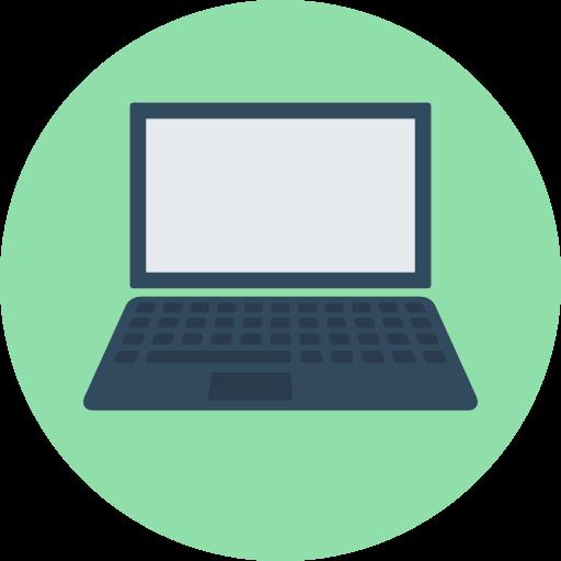 Fancy Elementor Flipbox Laptop Image