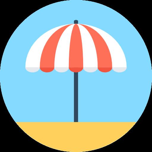 Fancy Elementor Flipbox Sun Umbrella Image